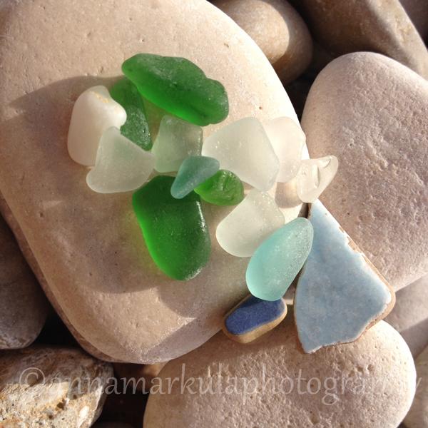 beach_glass closeup Croatia