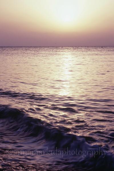 Croatia_sunset ocean beach film