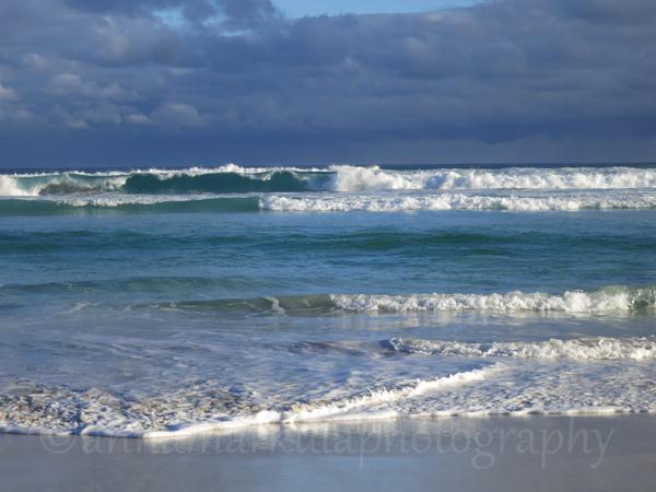 blue ocean clouds South Australia
