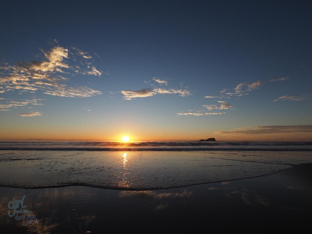 sunrise landscape wide-angle Mudjimba Beach