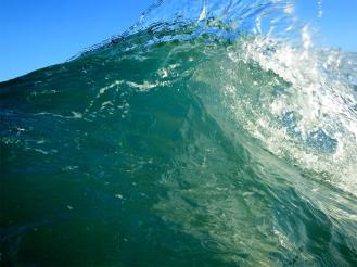 Sea Green Wave